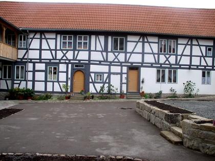 Innenhof Bildhäuser Hof in Münnerstadt