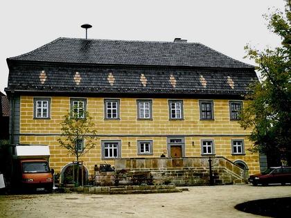 Außenansicht Gasthaus zum Greiffenclau in Untermerzbach-Gereuth