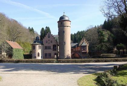 Außenansicht Wasserschloss Mespelbrunn