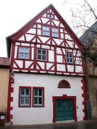 Anwesen Kellereigasse 7 in Karlstadt nach der Sanierung