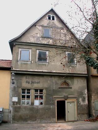 Anwesen Kellereigasse 7 in Karlstadt vor der Sanierung