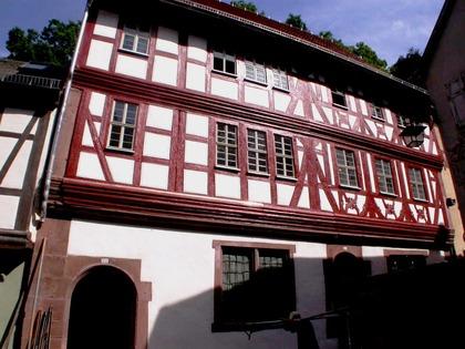 Außenansicht Gebäudeteil des Museums der Stadt Miltenberg, Hauptstraße 173 und 175 in Miltenberg