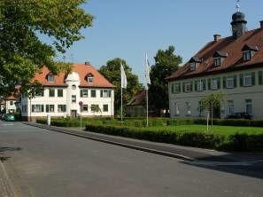 Gebäude des Mainhafens in Aschaffenburg