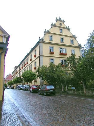 Außenansicht Ämtergebäude in Ebern