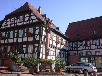 Außenansicht Debonhaus in Amorbach