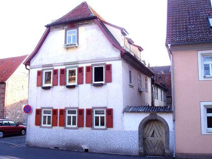 Außenansicht ehemaliger Judenhof in Bad Kissingen
