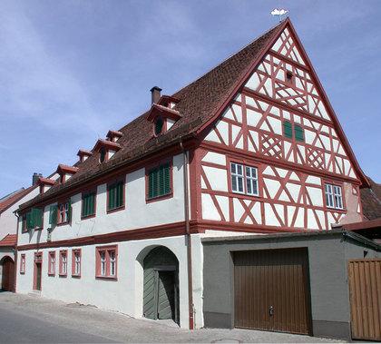Außenansicht Winzerhof in Volkach-Fahr