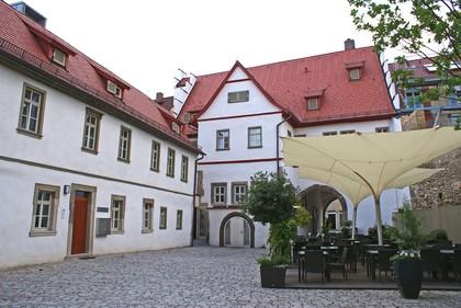 Innenhof des Ebracher Hofs