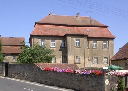 Außenansicht ehemaliges Bräuhaus in Gaukönigshofen-Acholshausen
