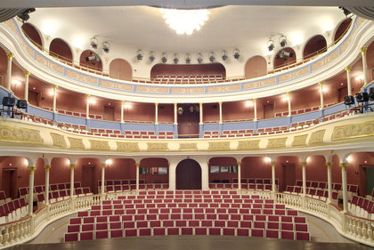 Zuschauerraum im Stadttheater Aschaffenburg