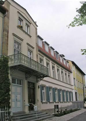 Außenansicht des Anwesens am Unteren Wall in Schweinfurt
