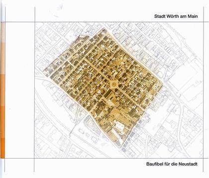 Titelblatt der Baufibel für den Denkmalschutzbereich Neu-Wörth