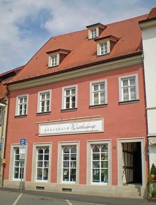Außenansicht des Anwesens Marktplatz 15 in Bad Königshofen