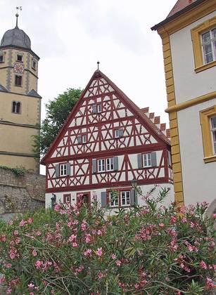 Außenansicht des Kantorats in Winterhausen