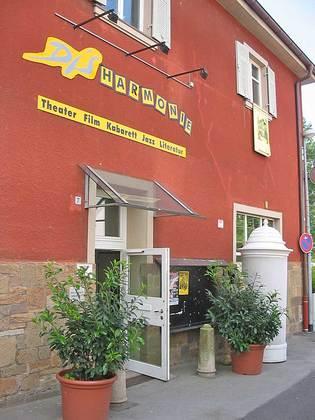 Eingang der Kulturwerkstatt Disharmonie in Schweinfurt