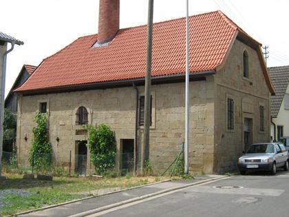 Außenansicht des Kommunbrauhauses in Stadt Königsberg Ortsteil Junkersdorf