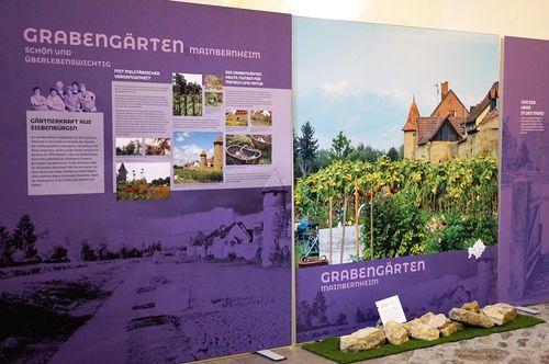 Bild:Ausstellung 'Gärten in Unterfranken. Mensch und Natur im Porträt'