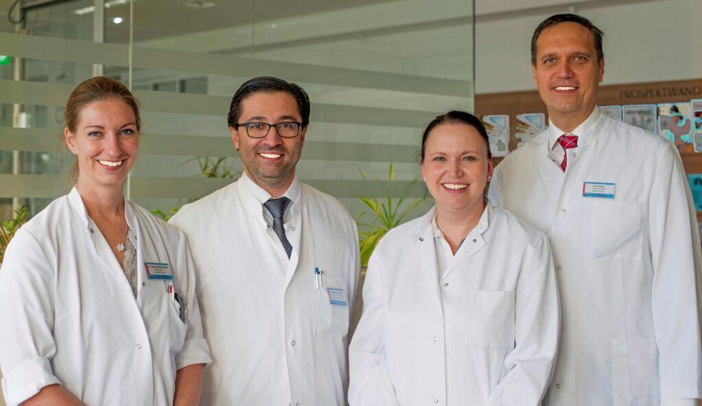 Das Team der Thoraxchirurgie