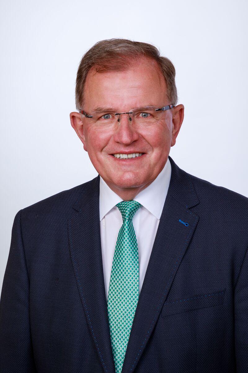 Bezirkstagspräsident Erwin Dotzel