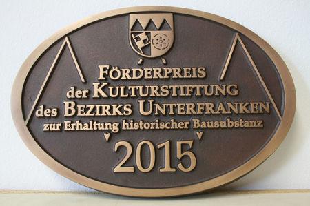 PlaketteDenkmalpreis2015