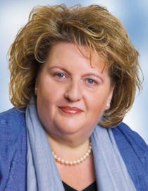 Stellvertretende Bezirkstagspräsidentin Eva-Maria Linsenbreder